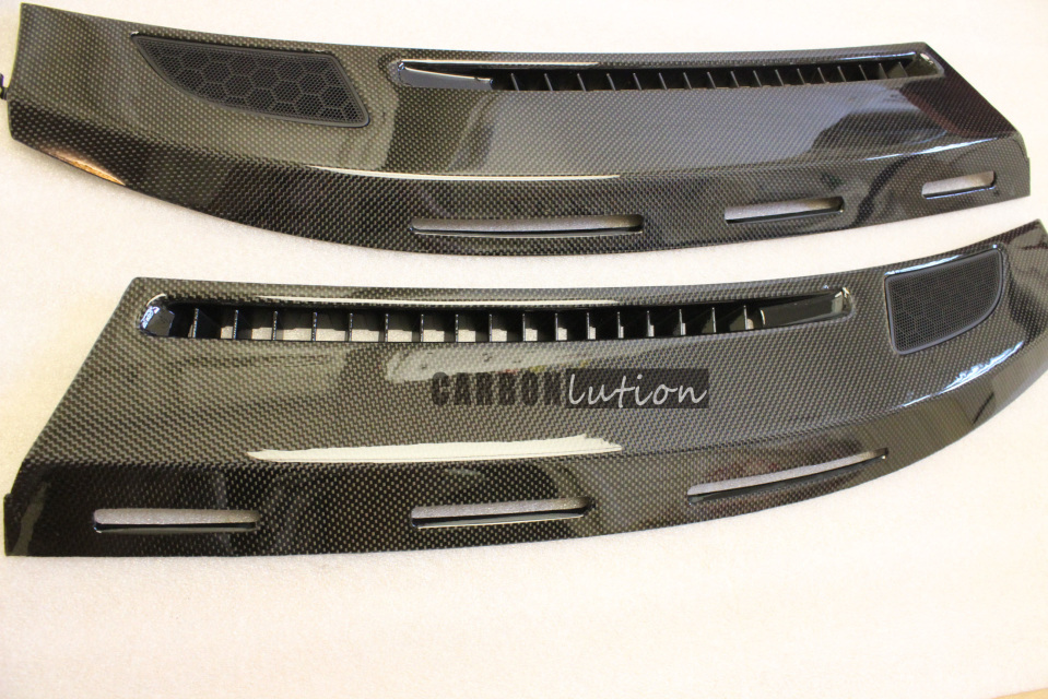 Carbon Fiber Dash Board Defroster Trim