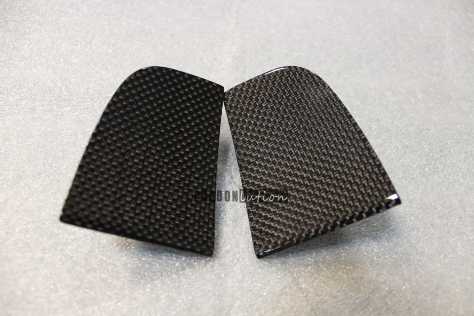 Carbon fiber door end caps
